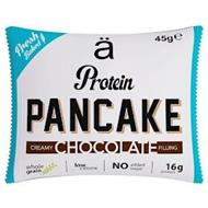 Ä PROTEIN PANCAKE FRESH BAKED 45GE CREAMY CHOCOLATE FILLING WHOLE GRAIN LOW CALORIE NO ADDED SUGAR 16G PROTEIN