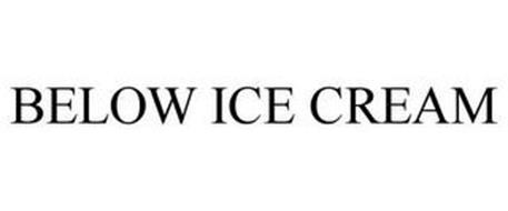 BELOW ICE CREAM