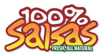 100% SALSAS FRESH,ALL NATURAL