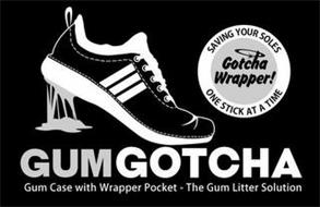 GUMGOTCHA GUM CASE WITH WRAPPER POCKET - THE GUM LITTER SOLUTION SAVING YOUR SOLES GOTCHA WRAPPER! ONE STICK AT TIME