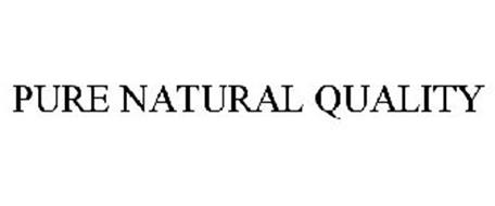 PURE NATURAL QUALITY