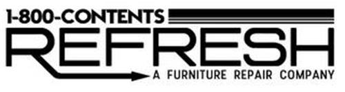 1-800-CONTENTS REFRESH A FURNITURE REPAIR COMPANY