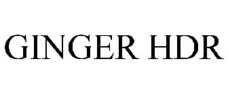 GINGER HDR