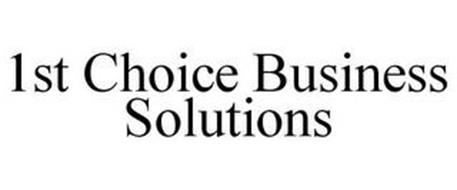 1ST CHOICE BUSINESS SOLUTIONS
