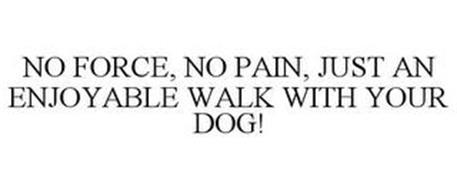 NO FORCE, NO PAIN, JUST AN ENJOYABLE WALK WITH YOUR DOG!