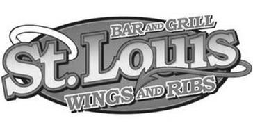 ST. LOUIS, BAR & GRILL, WINGS AND RIBS