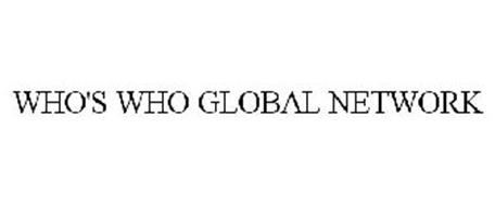 WHO'S WHO GLOBAL NETWORK
