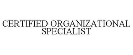 CERTIFIED ORGANIZATIONAL SPECIALIST