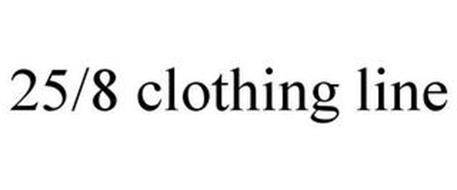 25/8 CLOTHING LINE