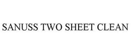 SANUSS TWO SHEET CLEAN