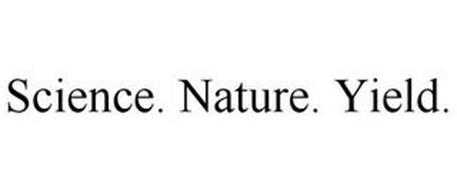 SCIENCE. NATURE. YIELD.
