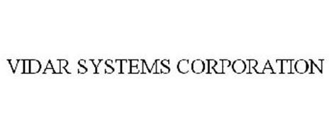 VIDAR SYSTEMS CORPORATION