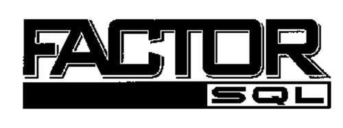 FACTOR SQL