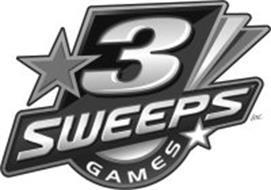3 SWEEPS GAMES
