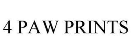 4 PAW PRINTS