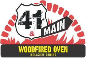 41 & MAIN WOODFIRED OVEN RELAXED DINING