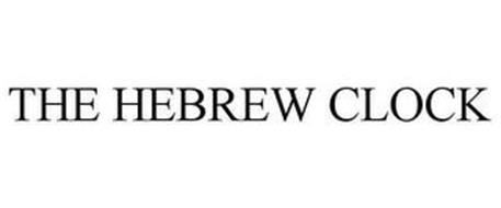 THE HEBREW CLOCK