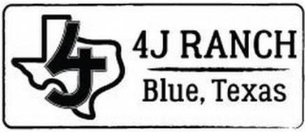 4J RANCH BLUE, TEXAS