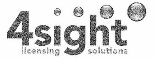 4SIGHT LICENSING SOLUTIONS