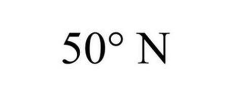 50° N