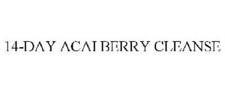 14-DAY ACAI BERRY CLEANSE
