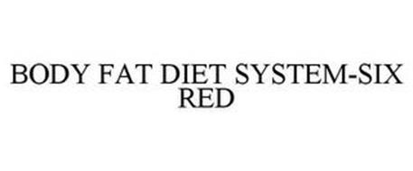 BODY FAT DIET SYSTEM-SIX RED