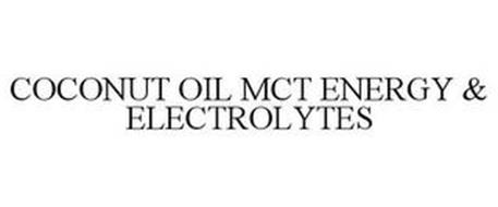 COCONUT OIL MCT ENERGY & ELECTROLYTES