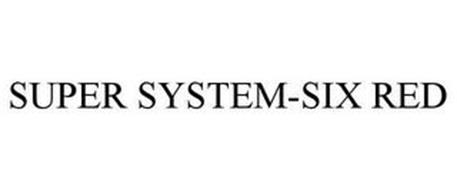 SUPER SYSTEM-SIX RED