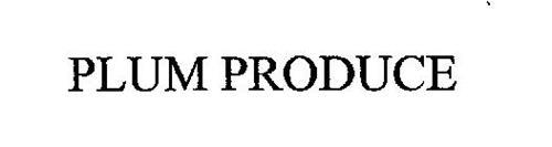 PLUM PRODUCE