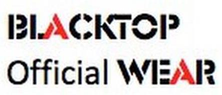 BLACKTOP OFFICIAL WEAR