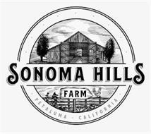 SONOMA HILLS FARM · PETALUMA · CALIFORNIA ·