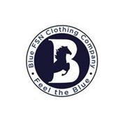 B BLUE FSN CLOTHING COMPANY · FEEL THE BLUE ·