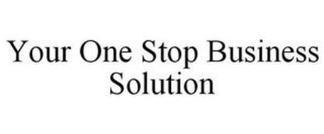 YOUR ONE STOP BUSINESS SOLUTION