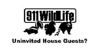 911 WILDLIFE UNINVITED HOUSE GUESTS?