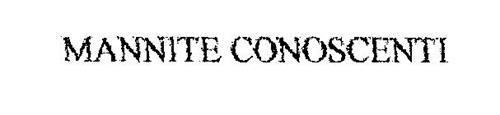 MANNITE CONOSCENTI
