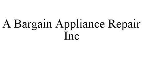A BARGAIN APPLIANCE REPAIR INC
