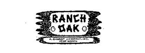 RANCH OAK A.BRANDT COMPANY, INC.  FORT WORTH