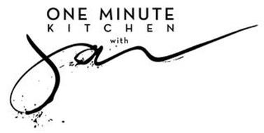 ONE MINUTE KITCHEN WITH JAN