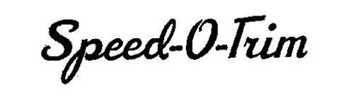 SPEED-O-TRIM