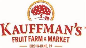 KAUFFMAN'S FRUIT FARM & MARKET BIRD-IN-HAND, PA