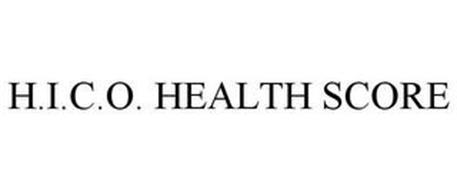 H.I.C.O. HEALTH SCORE