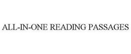 ALL-IN-ONE READING PASSAGES