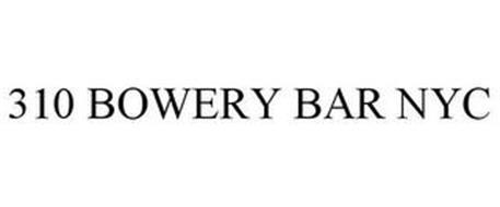 310 BOWERY BAR NYC