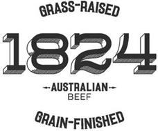 1824 GRASS-RAISED AUSTRALIAN BEEF GRAIN-FINISHED