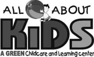 ALL ABOUT KIDS A GREEN CHILDCARE AND LEARNING CENTER