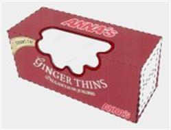 ANNA'S GINGER THINS DELGADITAS DE JENGIBRE 0 TRANS FAT