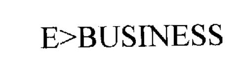 E>BUSINESS