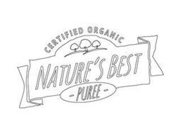 CERTIFIED ORGANIC NATURE'S BEST - PUREE -