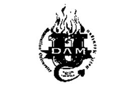 DAM U DAMNATION UNIVERSITY HELL, MICHIGAN ILLEGITIMUS NON TE CARBORUNDUM