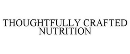 THOUGHTFULLY CRAFTED NUTRITION